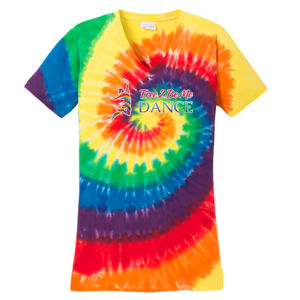 F2BMD Tie Dye V-Neck - Ladies Thumbnail
